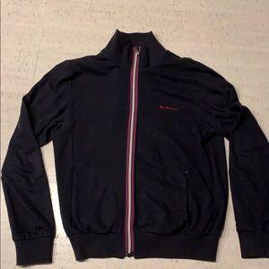 Men's Sz. M Ben Sherman Cotton Zip Up Sweatshirt